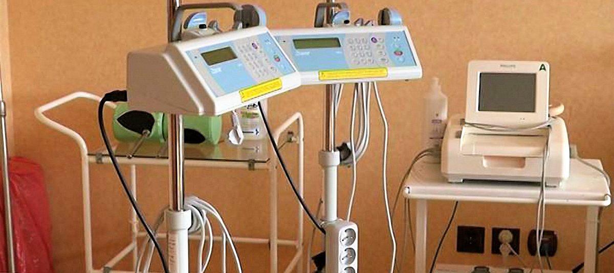 Sprzęt medyczny dla szpitala