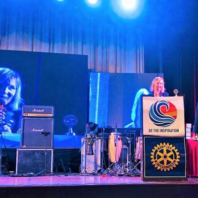 Basia podczas konferencji Dystryktu w Wayanad