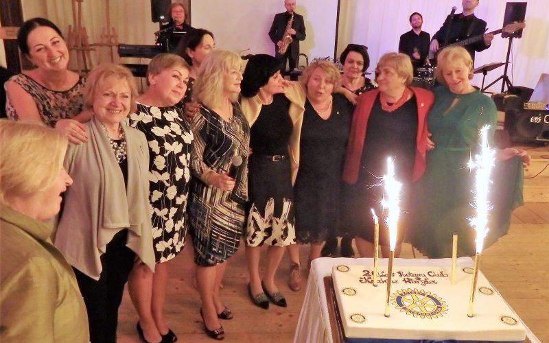 Jubileusz  20-lecia  Rotary  Club  Kraków Wanda