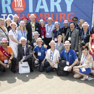 The Rotary International Convention. 2 June 2019, Hamburg, Germany.