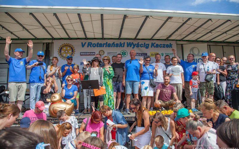 Piąty Rotariański Wyścig Kaczek