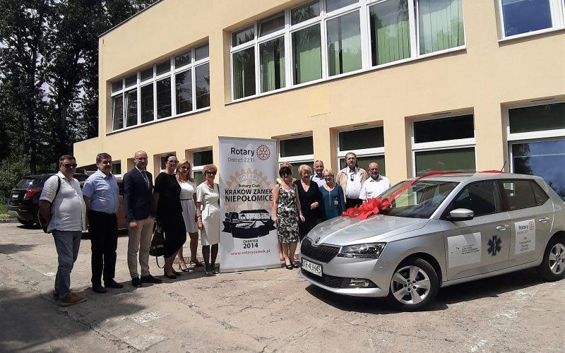Samochód dla Miejskiego Centrum Opieki w Krakowie