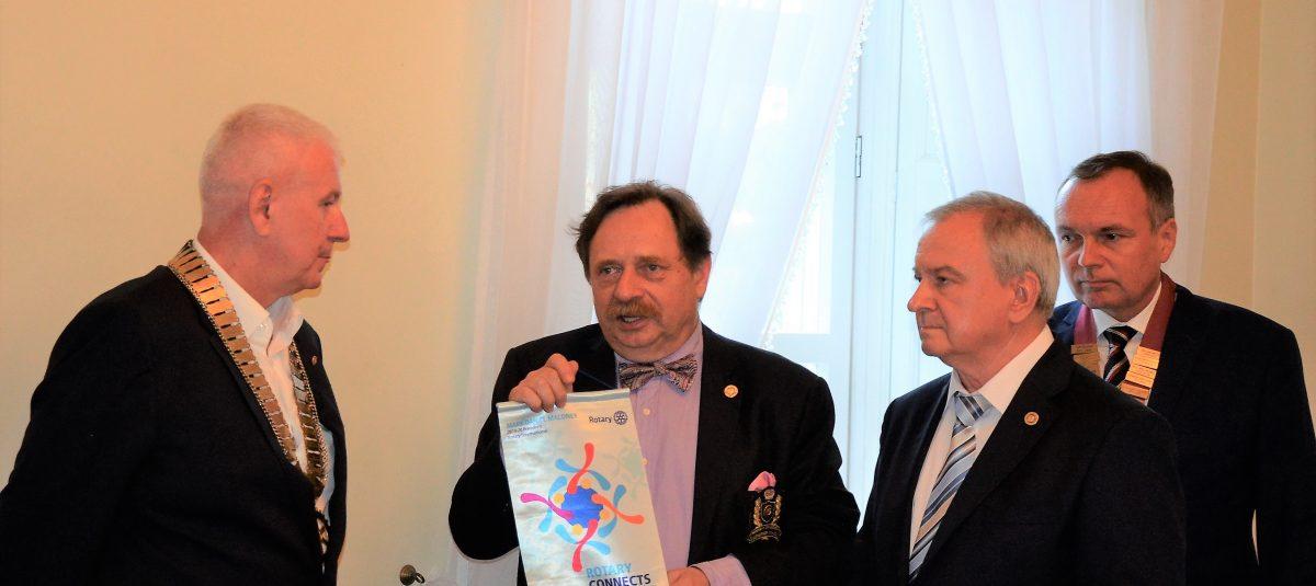 Przekazanie służby Rotariańskiej w Lublinie