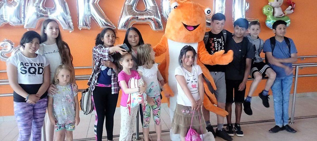 Dzieci z Peru we Wrocławiu