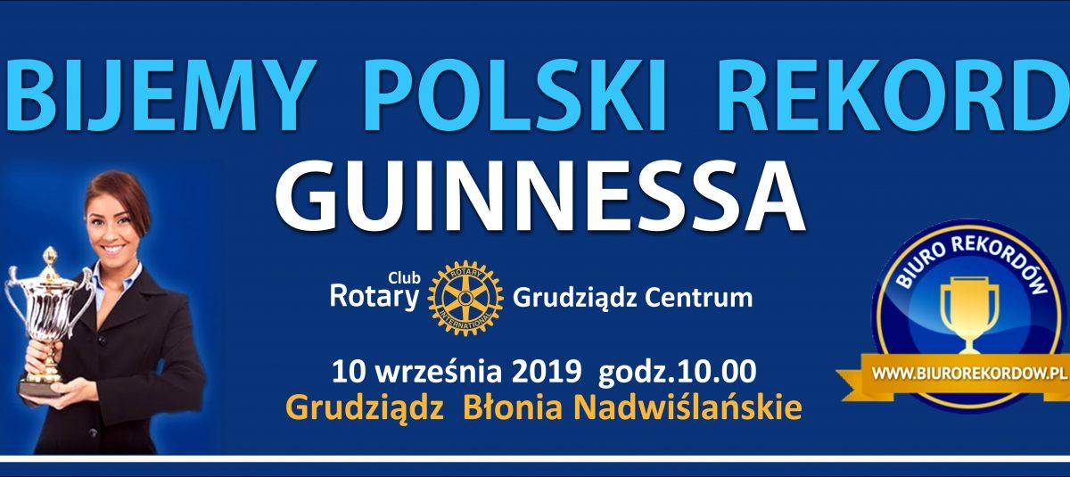 Rekord Polski – Największa mozaika z ludzi – żywy znak END POLIO NOW