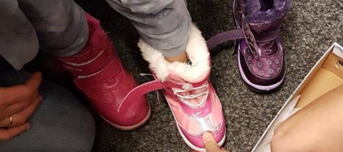 Zimowe buty dla dzieci
