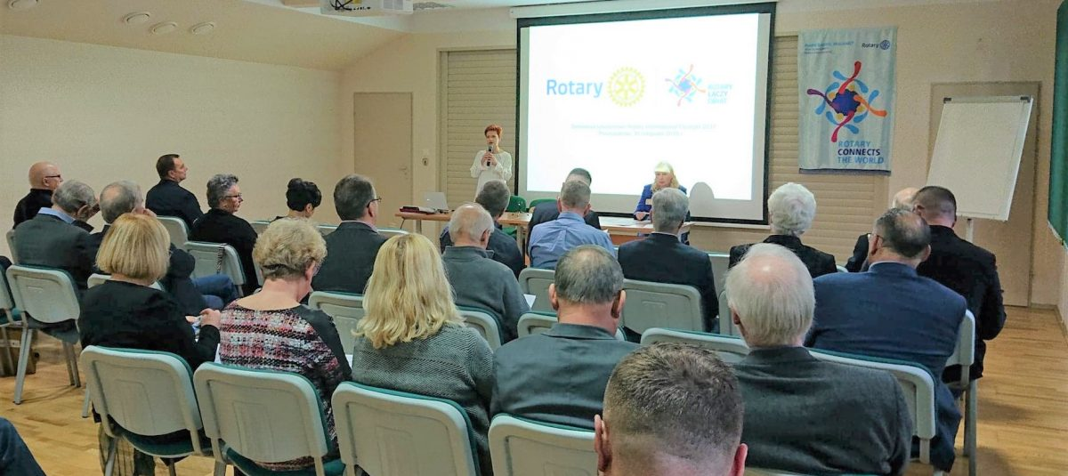 Rotarianie szkolili się w Puszczykowie