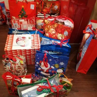 prezenty pakowanie