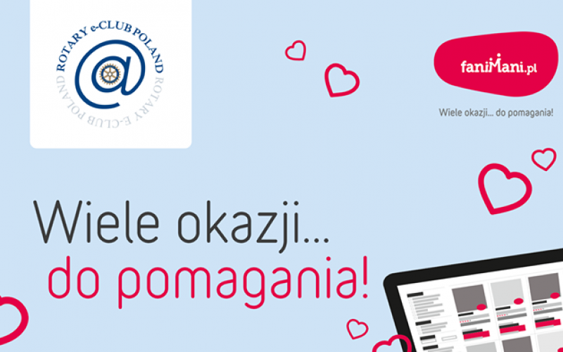 Rotary e-Club Poland – pomagaj z Fani Mani