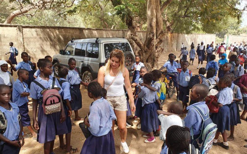 RC Sopot dla dzieci w Gambii