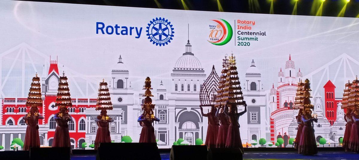 Uroczystości stulecia Rotary w Indiach