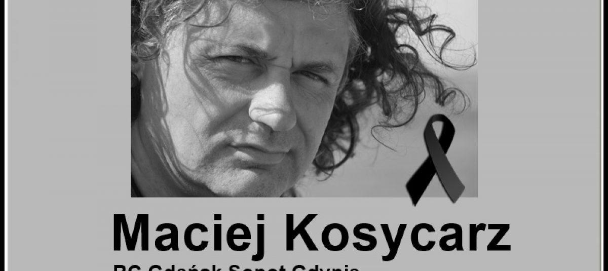 Żegnamy Rotarianina Macieja Kosycarza