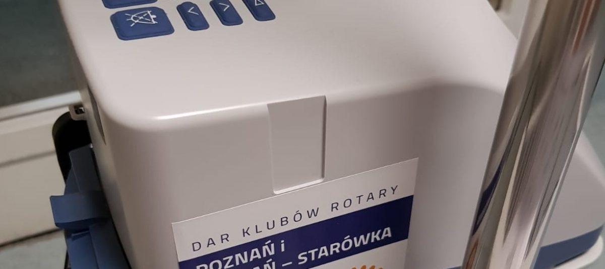 Rotarianie zakupili sprzęt do tlenoterapii dla szpitala