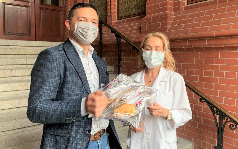 Wrocławscy Rotarianie z pomocą dla szpitala