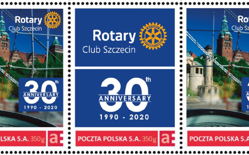 Znaczek pocztowy o tematyce rotariańskiej