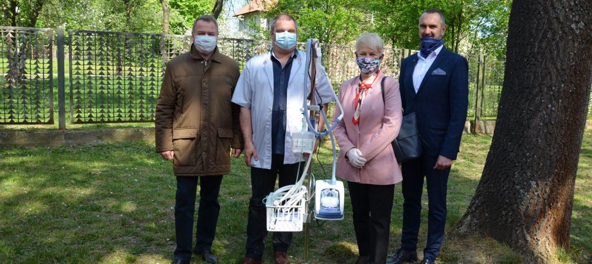 Sprzęt do tlenoterapii dla gorzowskiego szpitala