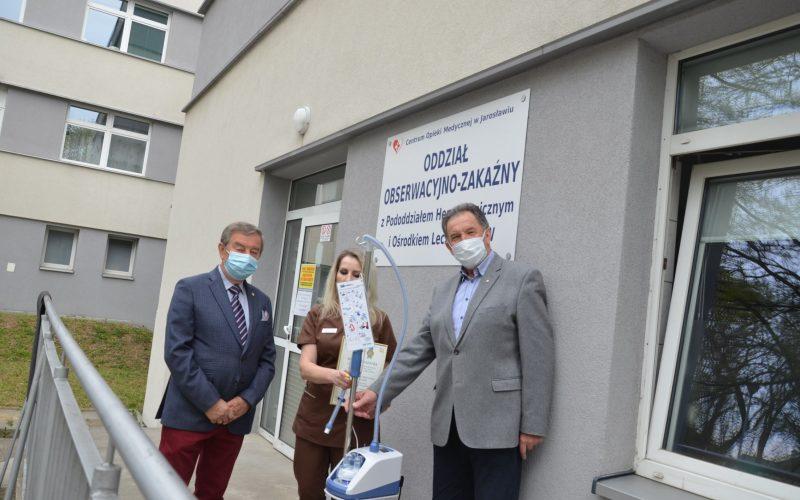 Rotary Jarosław wspomaga szpital