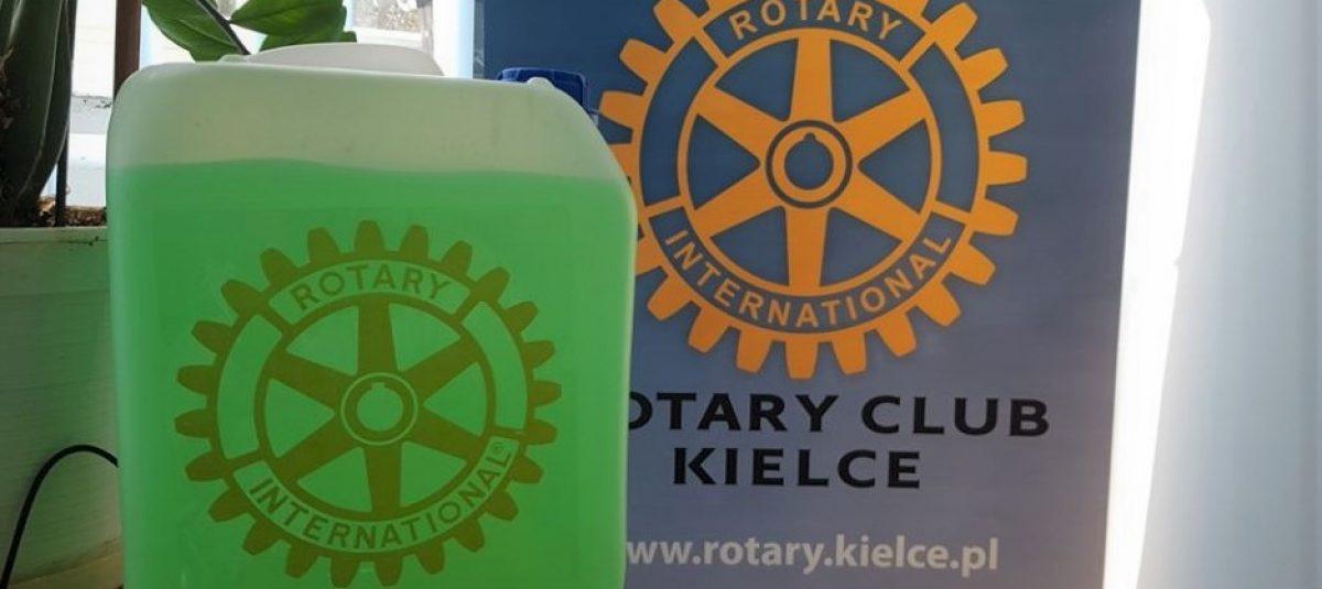 Rotarianie z RC Kielce w walce z COVID-19