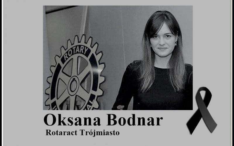 Pożegnanie Oksany Bodnar