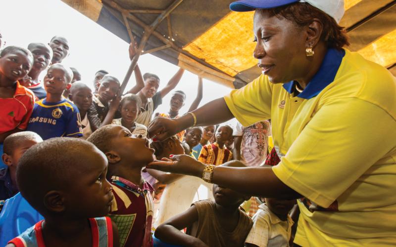 Region afrykański uznany za wolny od dzikiego wirusa polio