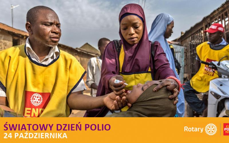 24 października Światowy Dzień Walki z Polio