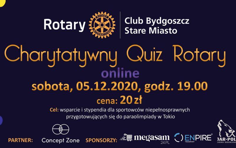 Charytatywny Quiz Rotary online