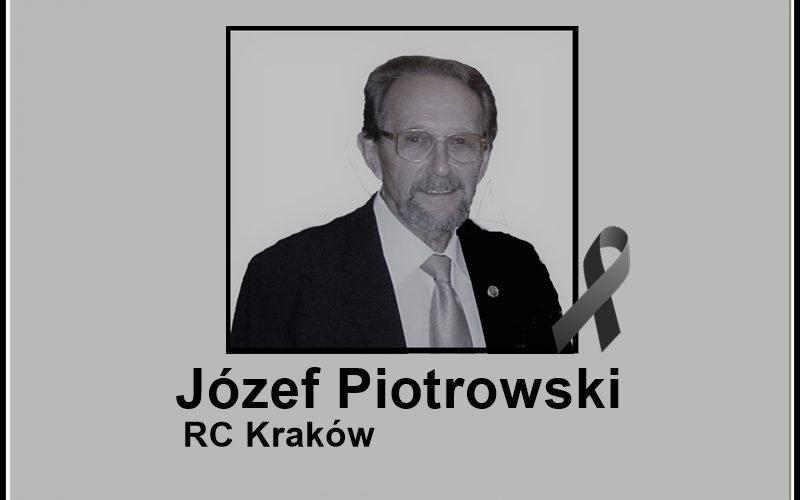Zmarł Rotarianin Józef Piotrowski