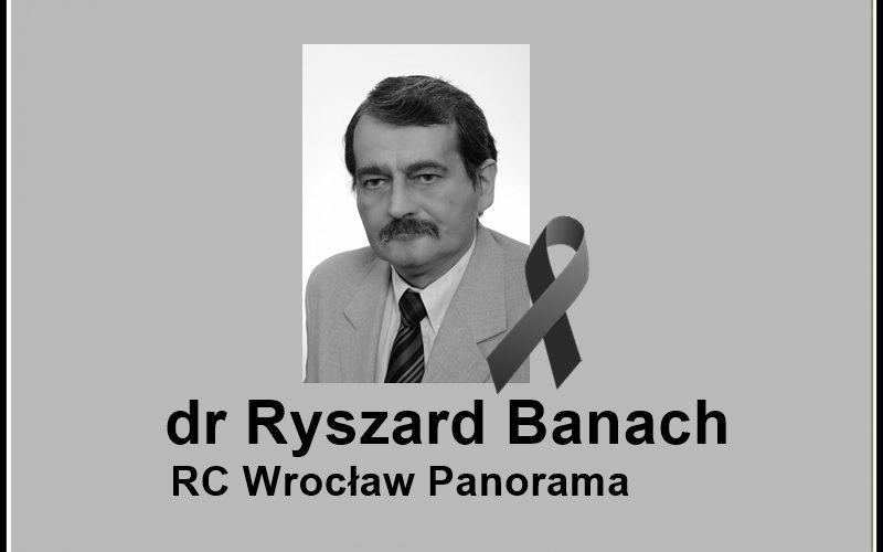 Pożegnanie dr Ryszarda Banacha