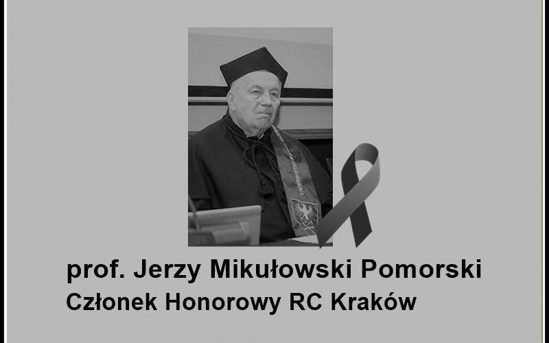 Zmarł prof. Jerzy Mikułowski Pomorski