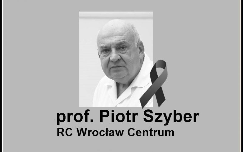 Zmarł prof. Piotr Szyber
