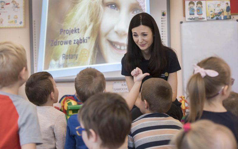Zdrowe ząbki w elbląskich przedszkolach