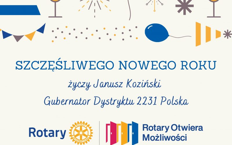 Życzenia noworoczne od Gubernatora