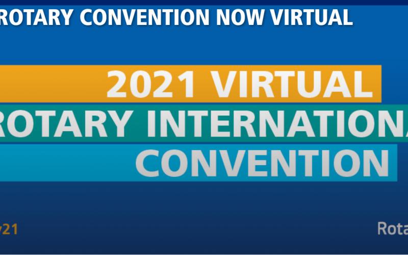 Konwencja Rotary International jednak wirtualnie