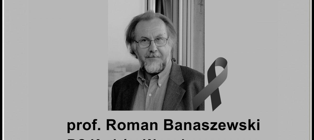Wspomnienie prof. Romana Banaszewskiego