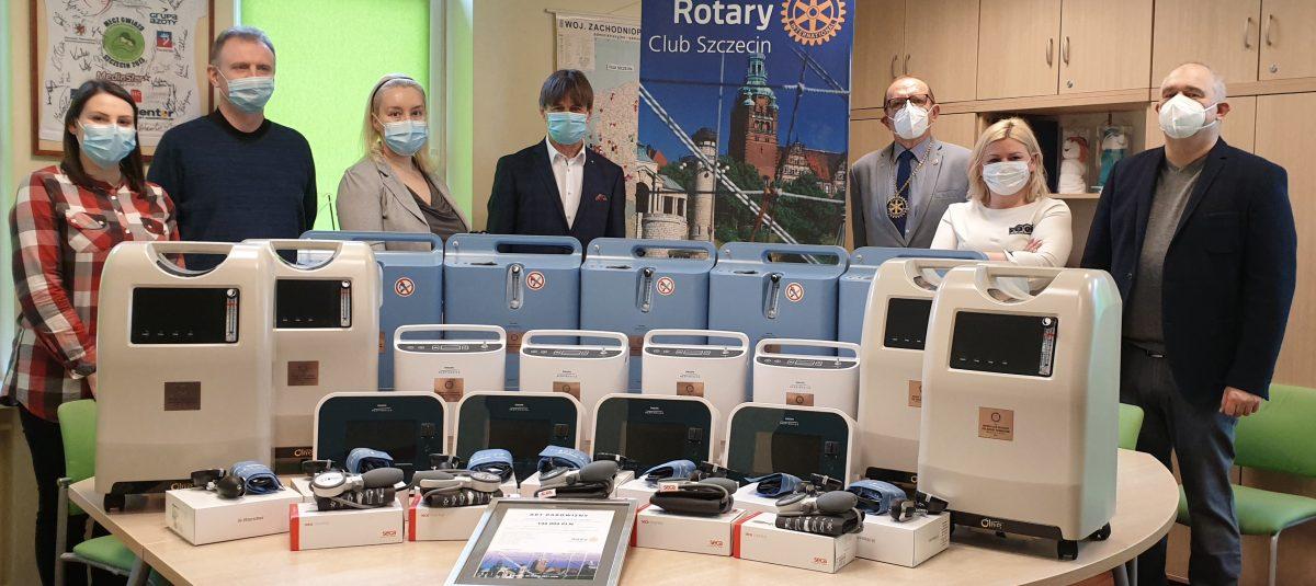 RC Szczecin przekazał sprzęt medyczny dla Hospicjum