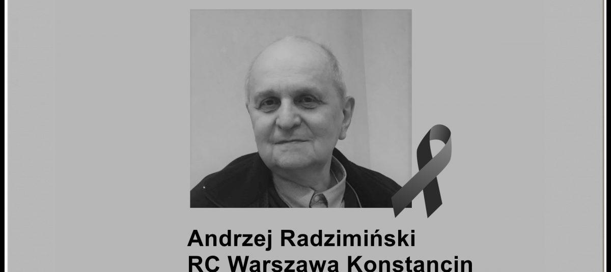 Pożegnanie Andrzeja Radzimińskiego