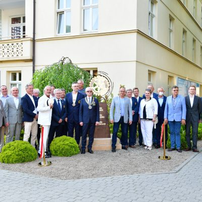 RC Inowrocław jubileuszowa instalacja