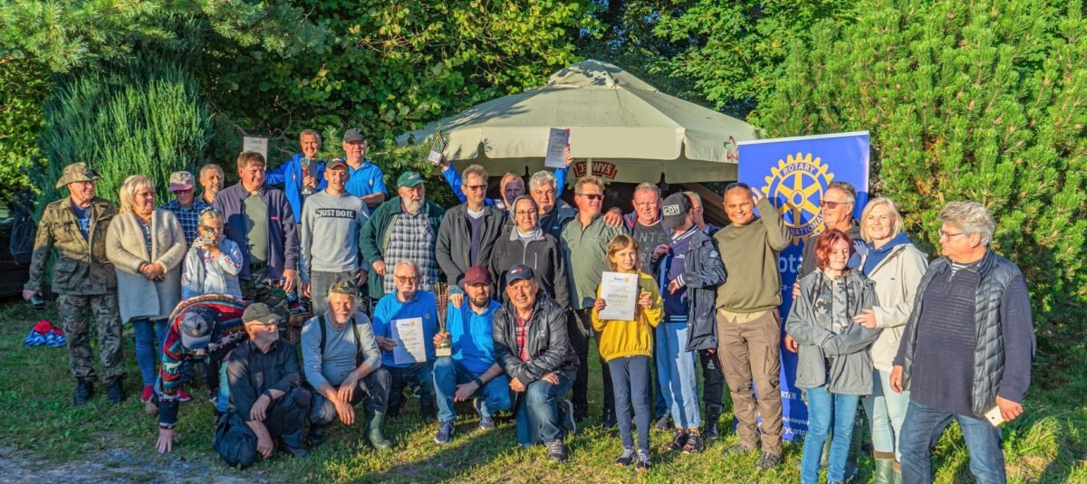 Rotariańskie Zawody Wędkarskie w Worynach